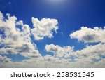 sky clouds | Shutterstock . vector #258531545