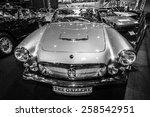 Постер, плакат: Sports car Maserati 3500