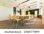 conference room interior | Shutterstock . vector #258577895
