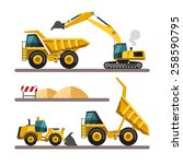 Set Of Building Machines....