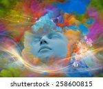 lucid dreaming series.... | Shutterstock . vector #258600815