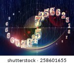 space geometry series.... | Shutterstock . vector #258601655