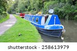 Scenic View Of A Narrow Boat O...
