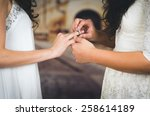 Wedding Beautiful Lesbian...
