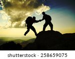 the spirit of unity and... | Shutterstock . vector #258659075