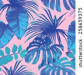 Summer Exotic Floral Tropical...