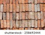brick wall  | Shutterstock . vector #258692444