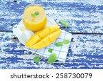 mango juice.   Shutterstock . vector #258730079
