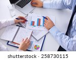 group of business people... | Shutterstock . vector #258730115
