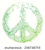 symbol of peace. beautiful...