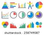 stat vector illustration icon... | Shutterstock .eps vector #258749087
