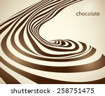 vector abstract beige... | Shutterstock .eps vector #258751475