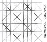 seamless geometric pattern  | Shutterstock .eps vector #258772661