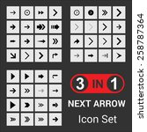 3 in 1 big next icon collection
