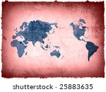 world map textures and...   Shutterstock . vector #25883635