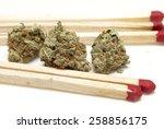 marijuana  | Shutterstock . vector #258856175