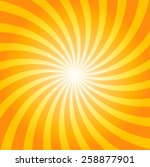 yellow and orange shiny... | Shutterstock .eps vector #258877901
