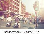 vintage blurred background ... | Shutterstock . vector #258922115