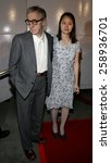 "Small photo of Director Woody Allen and Soon-Yi Previn attend The DreamWorks SKG Premiere of ""Match Point"" held at The LACMA in Los Angeles, California on December 8, 2005."