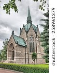 Small photo of Pori. Finland. Juselius Mausoleum. The mausoleum was built in 1903 by industrialist Fritz Arthur Jusélius for his daughter Sigrid, who died at the age of eleven