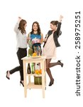 girls night | Shutterstock . vector #258975251