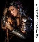 Portrai Of Mystic  Elf Woman...