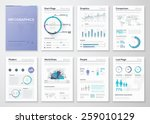 big collection of infographic... | Shutterstock .eps vector #259010129