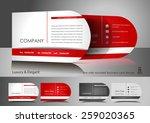one side rounded light business ... | Shutterstock .eps vector #259020365