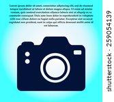 photo camera symbol. dslr...