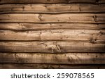 Wooden Wall Background With...