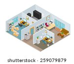 a vector illustration of a... | Shutterstock .eps vector #259079879