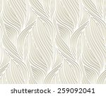 abstract vector seamless wave... | Shutterstock .eps vector #259092041
