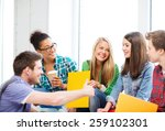 education concept   students... | Shutterstock . vector #259102301