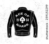 Monochrome Vintage Biker Label...