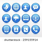 technology and modern... | Shutterstock .eps vector #259155914