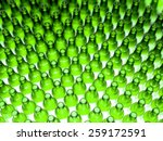 background made from empty beer ... | Shutterstock . vector #259172591