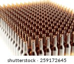 background made from empty beer ... | Shutterstock . vector #259172645