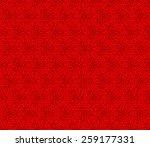seamless oriental pattern of... | Shutterstock .eps vector #259177331