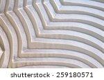 white design on material  ... | Shutterstock . vector #259180571