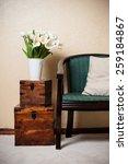 home interior  vintage chair... | Shutterstock . vector #259184867