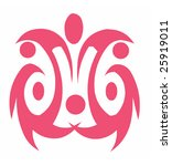 vector design tattoo | Shutterstock .eps vector #25919011