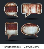 Vector Speech Bubble Icons ...