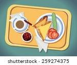 breakfast | Shutterstock .eps vector #259274375