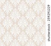 floral pattern. wallpaper... | Shutterstock .eps vector #259291229