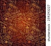 seamless vector experience... | Shutterstock .eps vector #259293227