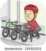 Illustration Of A Man Parking...