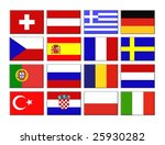 set of flags | Shutterstock . vector #25930282