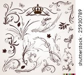 set of vector patterns for... | Shutterstock .eps vector #25930789