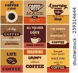 Retro Typographic Coffee Theme...