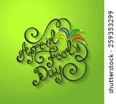 vector april fool's day... | Shutterstock .eps vector #259353299